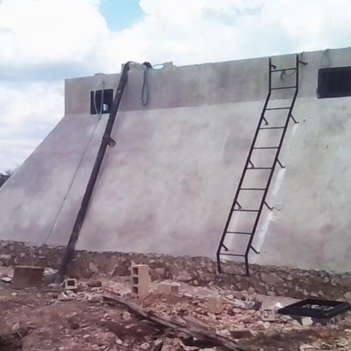 Red de agua potable Cenotillo