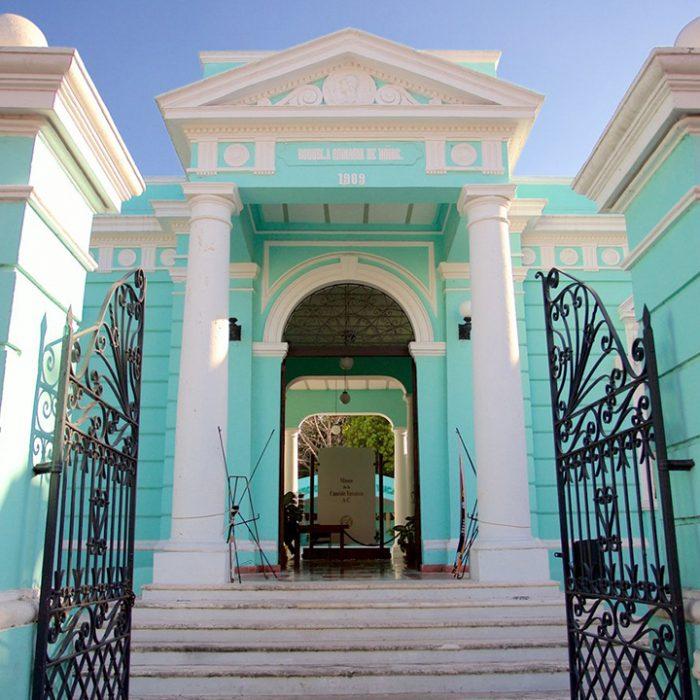Mantenimiento del edificio Museo de la Canción Yucateca